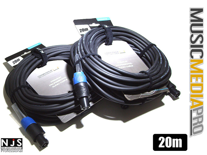 CONTROL CABLES Heavy Duty Jack to Speakon NL2FC 6m NEW